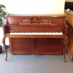Yamaha French Provincial Cherry Console Piano